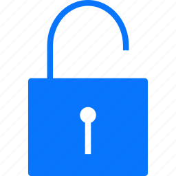open, unlock, unlocked icon