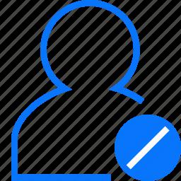 invalid, user icon