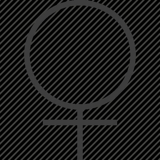 female, girl, lady icon