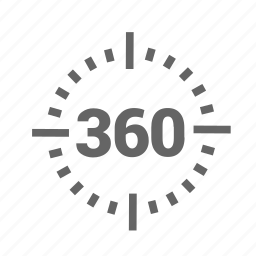 angle, degrees, full, shape, sixty, three, turning icon