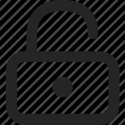 connect, lock, login, signin icon