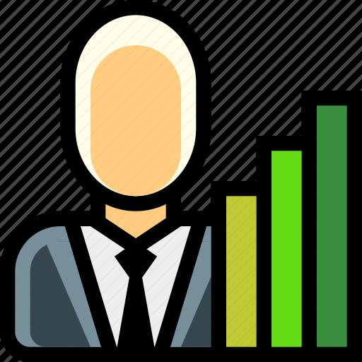 broker, business, investor, money, trade icon