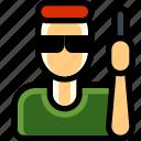 commando, male, man, military, person, soldier, trooper icon