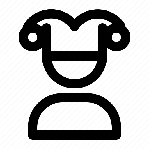 avatar, clown, people, user icon