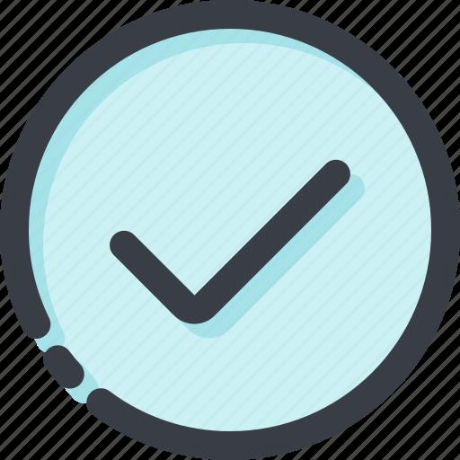 accept, check, checklist, done, list, mark, ok icon