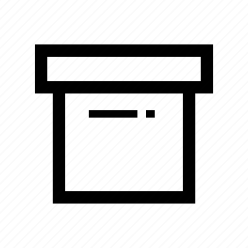 box, business, collection, distribution, logistic, package, shipping icon