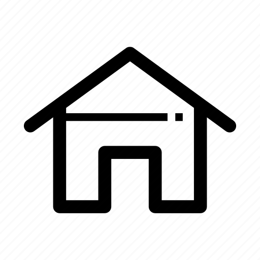 branch, business, home, office, resident, shelter, structure icon