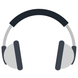 audio, communication, computer, device, electronic, entertainment, headphone icon