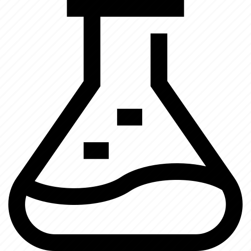 chemical, chemistry, erlenmeyer flask, flask, reagents icon