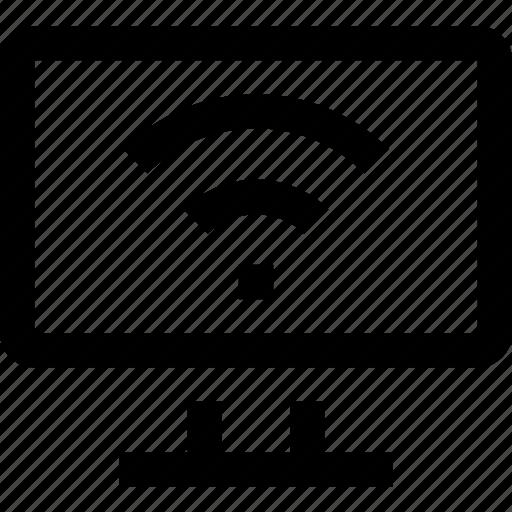 computer, internet, network, provider, wi fi, wireless icon