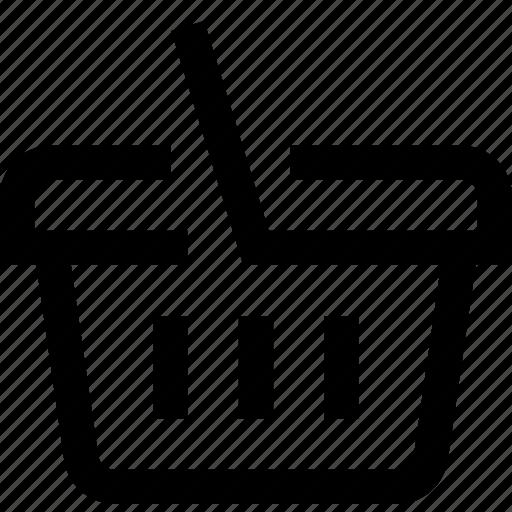 depot, sale, shop, shopping basket, store, trade icon