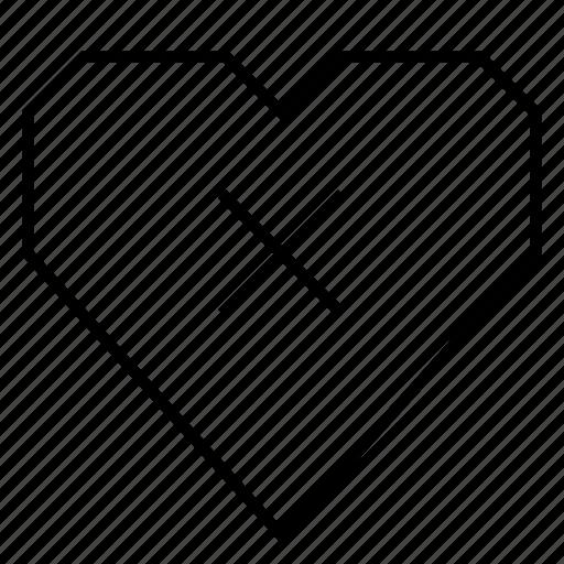 delete, escape, heart, hearts, love, unlike, x icon