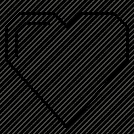 bubble heart, emotion, heart, hearts, love, shiny, shiny heart icon