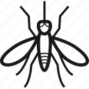bug, bugs, insect, mosquito icon