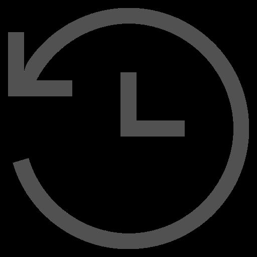 arrow, backup, clock, data, guardar, refresh, safe icon