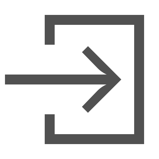 arrow, close, door, exit, out, signout icon