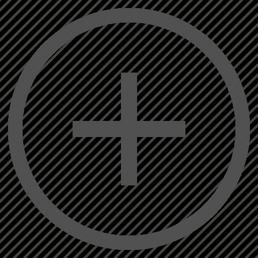 add, additional, circle, plus, select icon