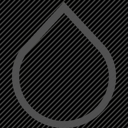 drop, droplet, liquid, splash, water, whit icon