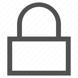 block, lock, locked, padlock, safe, safety icon