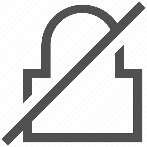 block, disabled, lock, locked, padlock, safe, safety icon