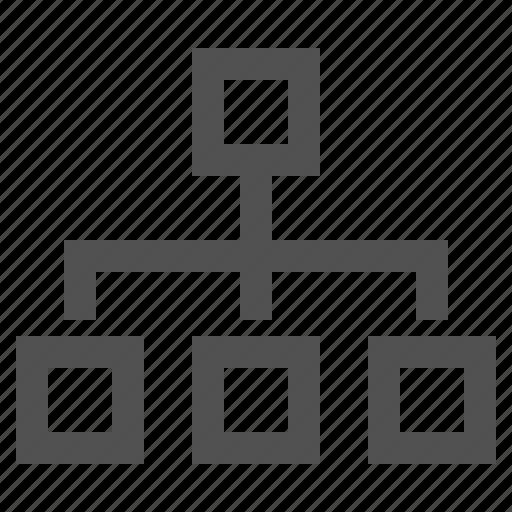 blocks, mind, mindmap, scheme, structure icon