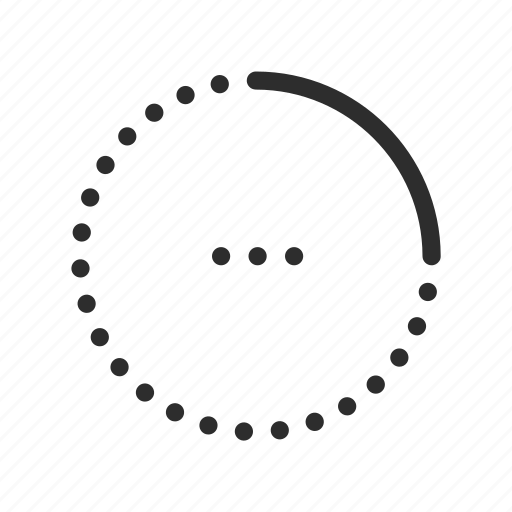 circle, load, loading, processing, progress, wait icon