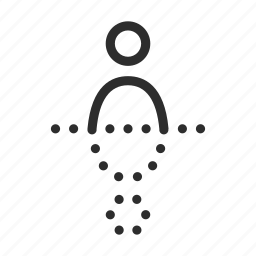 double, man, people, reflect, reflection, shadow, user icon