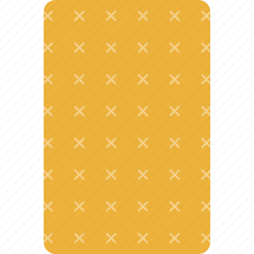 back, card, casino, deck, playing, yellow icon