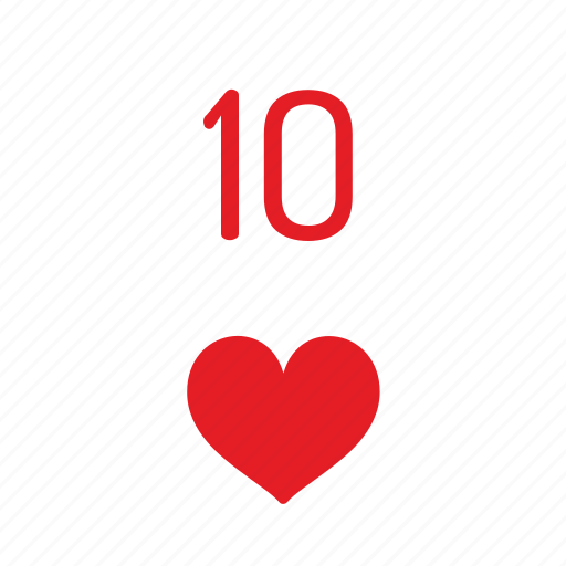 card, casino, deck, hearts, playing icon