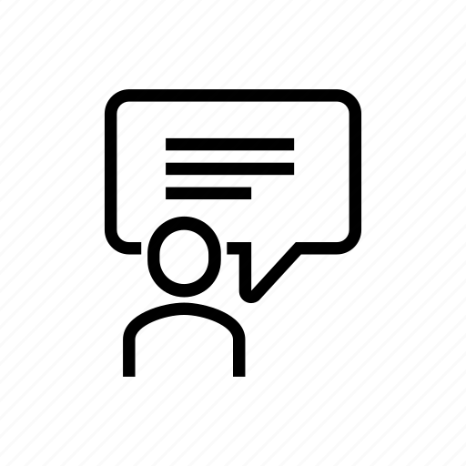 chat, online icon