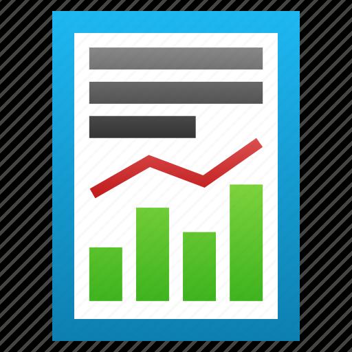 analysis, chart, graph, progress, sales, statistics, stock charts icon