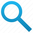 audit, find, search, seo, tool, view, zoom icon