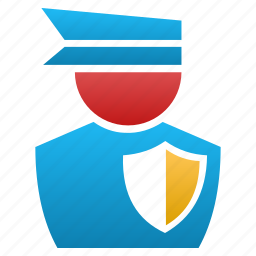 guard, law, legal, police, safety, security, shield icon