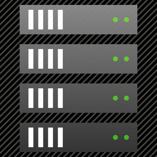 bigdata, data server, database, db, hosting, repository, server icon
