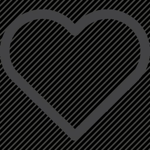 like, love, ui icon