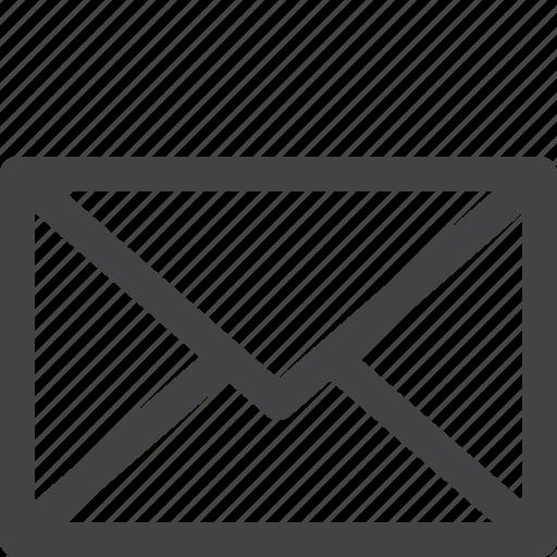envelope, letter, mail, send, ui icon