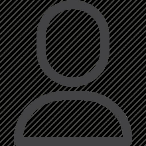 account, avatar, face, person, profile, ui icon