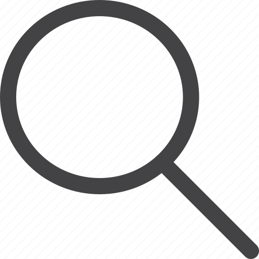 find, glass, magnifier, search, ui, zoom icon