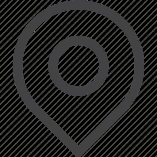 gps, maps, navigation, place, ui icon