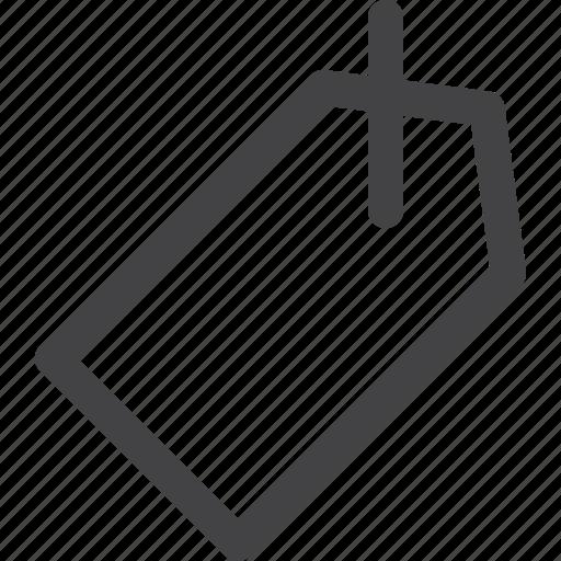 tag, ui icon