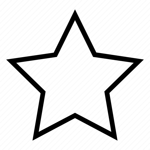 interface, review, star, user icon