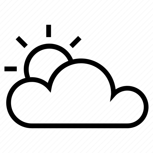 cloud, day, interface, user, weather icon