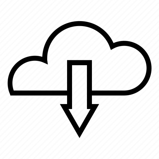 cloud, download, interface, synchronous, user icon