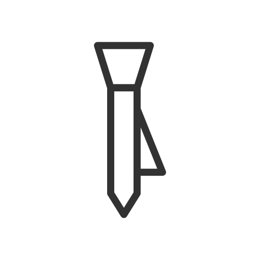 clothes, clothing, dress, fashion, style, tie icon