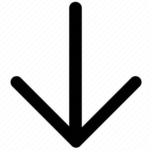 arrow, chevron, down, download, dropdown, navigation icon