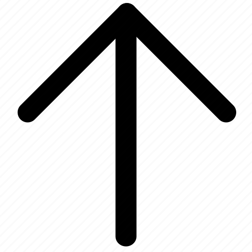 arrow, chevron, navigation, up, upload icon