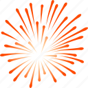 4th, day, fire works, fireworks, independence, july 4, new year icon