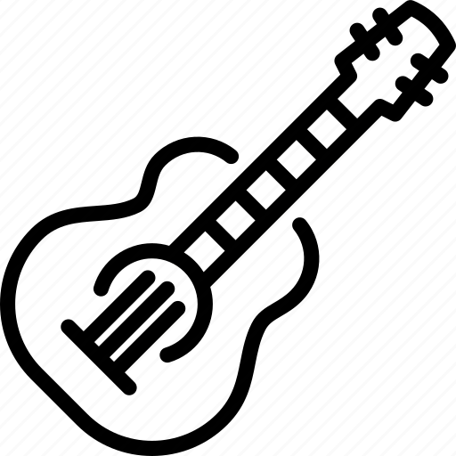 classical guitar, guitar, instrument, music, musical instrument, play, song icon