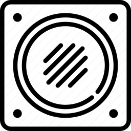 audio, bass, music, play, sound, subwoofer, woofer icon