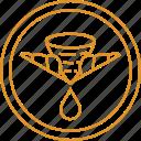 drip, drop, filter, for, organic